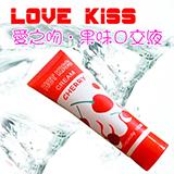 HOT KISS 櫻桃味口交、肛交、陰交潤滑液 100ml