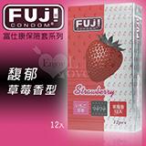 FUJICONDOM 富仕康‧馥郁草莓香型保險套 12片裝
