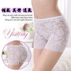 《Yisiting》性感鏤空蕾絲花朵造型褲﹝白﹞