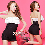 《YIRAN MEI》嫵媚誘惑!露肩蕾絲束身派對裝